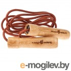 Mad Wave Wooden Skip Rope Brown M1321 04 0 00W