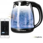 Чайник электрический Redmond RK-G210S SkyKettle 1.7л. 2200Вт черный матовый (корпус: стекло)