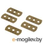 Лезвия сменные к скребку H-110753, H-110702 для стеклокерамических плит 5 шт нержавеющая сталь