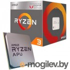 Процессор AMD Ryzen 3 2200G BOX <65W, 4C/4T, 3.7Gh(Max), 6MB(L2+L3), AM4> RX Vega Graphics (YD2200C5FBBOX)