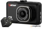 Видеорегистратор Artway AV-394 с двумя камерами 3/120°/1920x1080 Full HD/мониторинг парковки