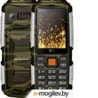 Сотовые / мобильные телефоны, смартфоны BQ BQ-2430 Tank Power Camouflage-Silver