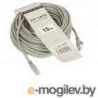 Патч-корд литой  TV-COM многожильный UTP кат.5е 15м серый <NP511-15M>