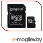 Карты памяти. Карта памяти MicroSDXC 32GB  Kingston Class 10 UHS-I U1 Canvas Select + адаптер  [SDCS/32GB]