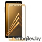 для Samsung Защитное стекло Samsung Galaxy A8 Pero 2.5D Gold