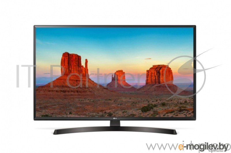 [NEW] LED LG 43 43UK6450PLC черный/коричневый/Ultra  HD/100Hz/-T/-T2/-C/-S/-S2/USB/WiFi/Smart TV  (RUS)