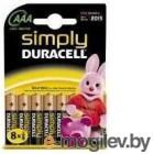 DURACELL LR03-8BL