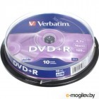 DVD R 10 шт. туба Verbatim 16x /4,7Gb/ - Advanced AZO