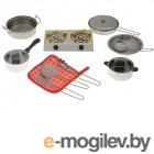ABtoys Набор посуды Помогаю Маме с плитой PT-00265