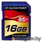 Secure Digital (SDHC) 16GB Silicon Power SP016GBSDH010V10