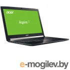 Acer Aspire 7 A717-71G-76YX Black NH.GTVER.004 Intel Core i7-7700HQ 2.8 GHz/8192Mb/1000Gb128Gb SSD/nVidia GeForce GTX 1050 2048Mb/Wi-Fi/Bluetooth/Cam/17.3/1920x1080/Linux