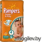 PAMPERS Sleep & Play Maxi 4 7-18 кг 50шт