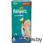 PAMPERS Active Baby Extra Large 6 15+ кг 54шт