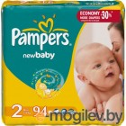 PAMPERS New Baby Mini 2 3-6 кг 94шт