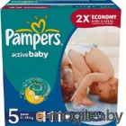 PAMPERS Active Baby Junior 5 11-18 кг 111шт