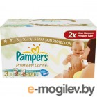 PAMPERS Premium Care Midi 3 4-9 кг 120 шт