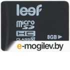 Карты памяти 8Gb - Leef - Micro Secure Digital HC Class 10 LFMSD-00810R (Оригинальная!)