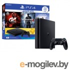 Sony PlayStation 4 500Gb Slim CUH-2108A + Horizon Zero Dawn + Gran Tourismo + Uncharted 4 + PS Plus 3 месяца