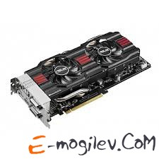 ASUS 1Gb R7 260X DIRECT CU II OC <R7 260Х, GDDR5, 128 bit, 2*DVI, HDMI, DP, Retail