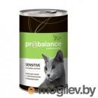 ProBalance 415г Sensitive корм конс д/кош с чувствительным пищеварением