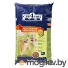 Club 4 Paws 14кг ПРЕМИУМ сухой корм для взрослых собак средних пород