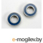 Подшипники. Ball bearings, blue rubber sealed (6x12x4mm) (2).