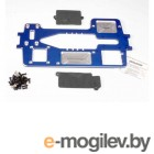 Chassis, 7075-T6 billet machined aluminum (4mm) (blue)/ hardware.
