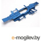 Chassis, Revo 3.3 (extended 30mm) (3mm 6061-T6 aluminum) (anodized blue).