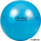 Фитбол гладкий Qmed ABS Gym Ball 75 см (голубой)