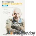 ПО Eset NOD32 Smart Security Family - лиц или прод на 20мес 3 devices 1 year Box (NOD32-ESM-1220(BOX)-1-3)