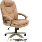 Офисное кресло Chairman 668 LT Россия чер.пласт экопремиум бежевый (7011066)