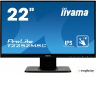 Монитор Iiyama 21.5 ProLite T2252MSC-B1 черный IPS LED 5ms 16:9 HDMI M/M матовая 3000:1 250cd 178гр/178гр 1920x1080 D-Sub DisplayPort FHD Touch 3.7кг