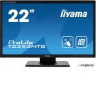 Монитор Iiyama 21.5 ProLite T2253MTS-B1 черный TN LED 2ms 16:9 DVI HDMI M/M матовая 1000:1 250cd 170гр/160гр 1920x1080 D-Sub FHD USB Touch 5.6кг
