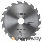 Диск 160х20/16 36 зубов OPTILINE ECO BOSCH