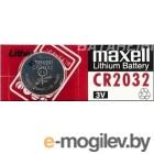 Батарейка CR2032 (3V) - MAXELL Lithium, блистер