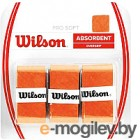 Овергрип Wilson Pro Soft Overgrip / WRZ4040OR (3шт, оранжевый)