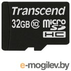 Transcend micro-SD Card 32Gb Class10 TS32GUSDC10