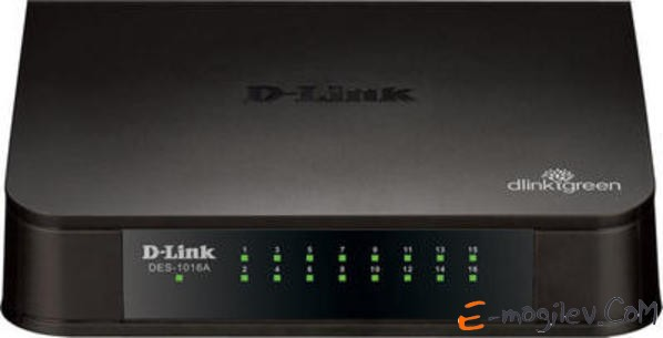 DLink [DES-1016A/E1A] 16-port 10/100 Mbps Switch