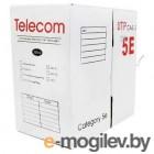Кабель Telecom Pro UTP кат. 5e (бухта 305м) d0,52мм  (Омедненный)