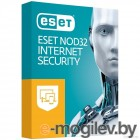 ПО Eset NOD32 Internet Security 1 год или продл 20 мес 3 devices 1 year Box (NOD32-EIS-1220(BOX)-1-3)