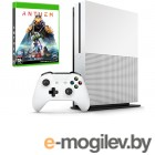Microsoft Xbox One S 1Tb White 234-00948 + Anthem