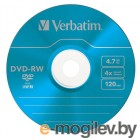 Verbatim DVD-RW 4.7Gb 4x Slim color 4356343635