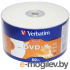 Verbatim DVD-R 4.7Gb 16x Shrink/50 DataLife Ink Print 43793