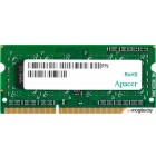 Память SO-DIMM DDR3 APACER 4Gb (pc-12800) 1600MHz Retail AS04GFA60CAQBGC/DS.04G2K.HAM
