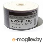 Диск DVD+R CMC 4.7 Gb, 16x, Bulk (50), Full Ink Print (50/600)