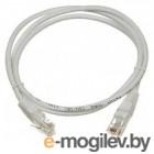 Кабель Patch cord Lanmaster TWT-45-45-1.0-GY 1м UTP Cat 5e Grey