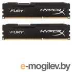 Kingston DDR3 16Gb KIT (8GbX2) 1333MHz HyperX FURY Black Series CL9 [HX313C9FBK2/16]