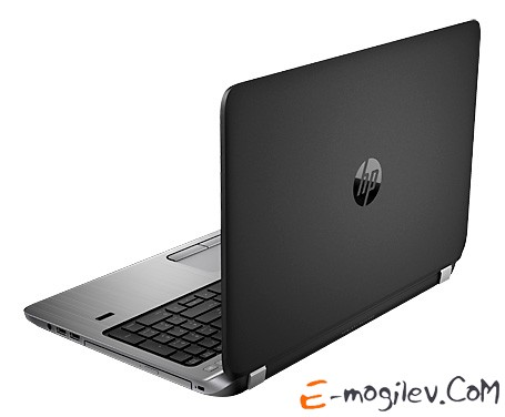 HP 450 Core i3-4030U/4Gb/500Gb/DVDRW/HDG/15.6/HD/Mat/Free DOS/grey/BT4.0/6c/WiFi/Cam/Bag