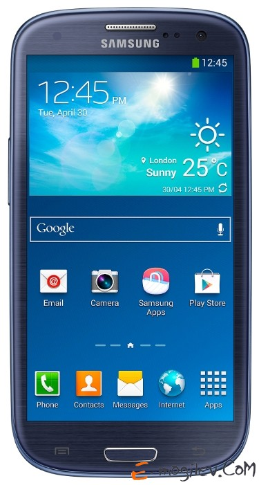 Samsung GALAXY S3 DUOS GT-I9300DS Metallic Blue 4.8