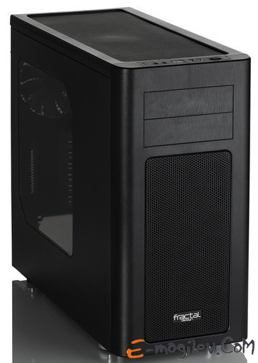 Fractal Design Arc Midi R2 black w/o PSU ATX SECC 3*fan 2*USB3.0 audio screwless bott PSU